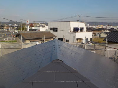 倉敷市亀島 N様邸 屋根塗装工事