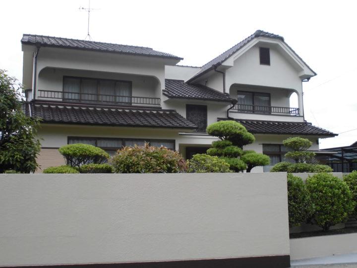 倉敷市連島町 M様邸  外壁・外塀塗装