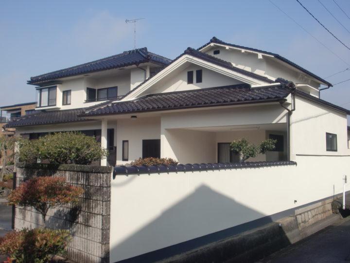 倉敷市黒石 S様 外塀・外壁塗装工事