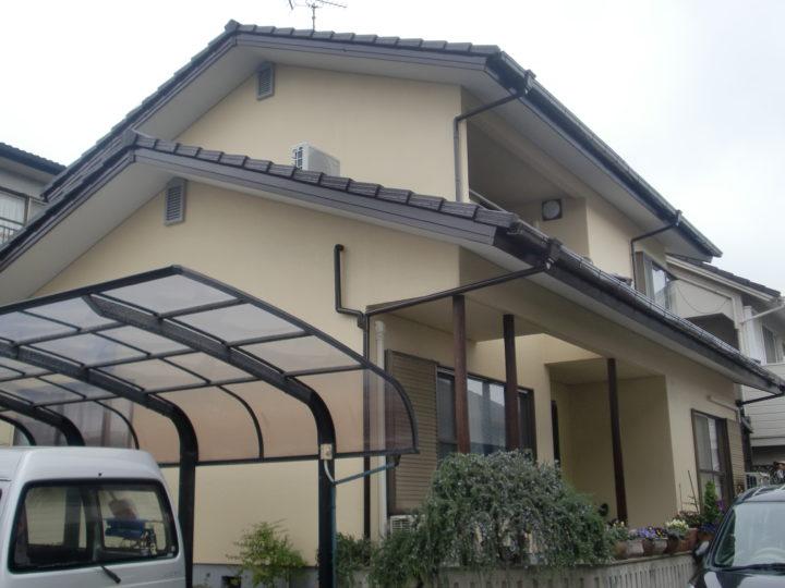 倉敷市児島Y様邸 屋根・外壁塗装工事