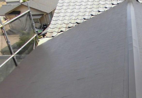 倉敷市西中新田 S様邸 屋根塗装工事