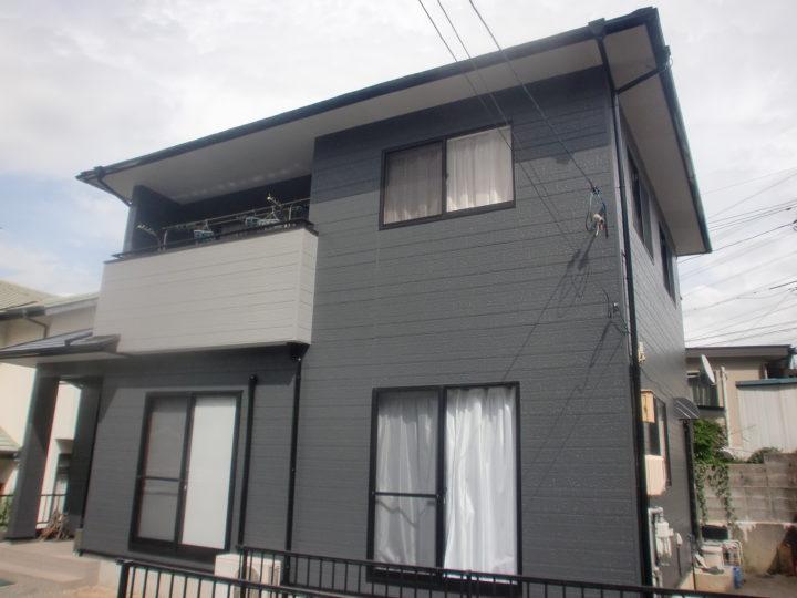 総社市西坂台 中澤様邸 屋根・外壁塗装工事