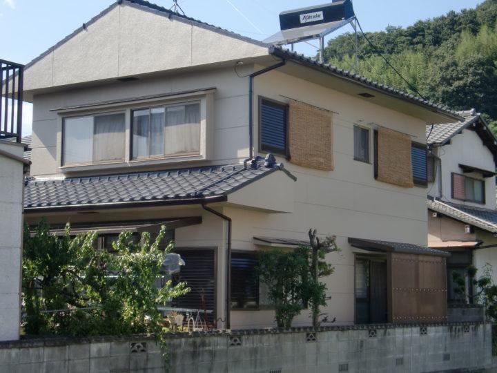 倉敷市連島町西之浦  S様邸 屋根・外壁塗装
