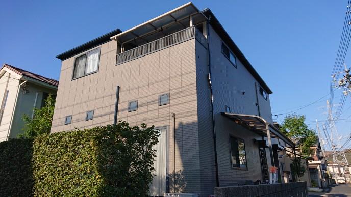 倉敷市水江 M様邸 外壁塗装工事