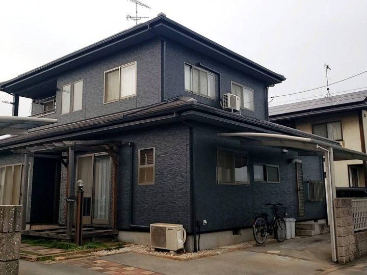 倉敷市 F様邸 外壁塗装工事