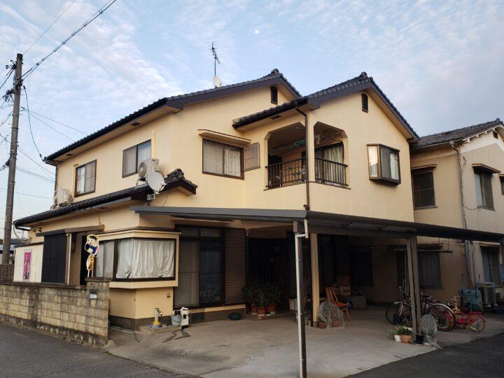 倉敷市連島町 Y様邸 外壁塗装工事