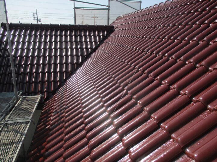 倉敷市東富井 H様邸 屋根塗装工事