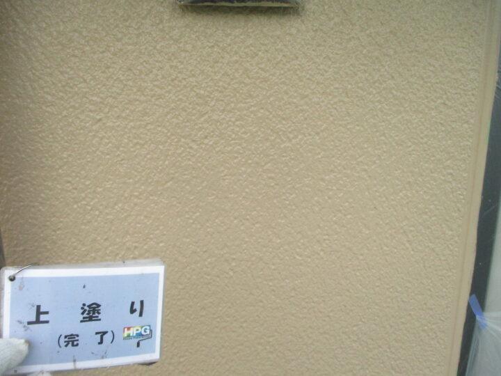 上塗り完了(2階)