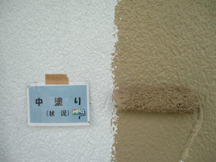 中塗り(2階)