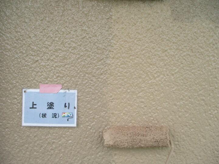 上塗り(2階)