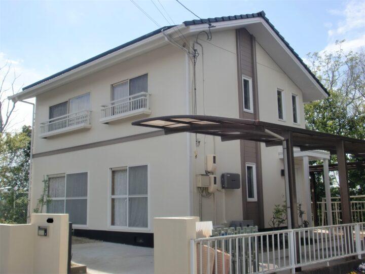 倉敷市玉島乙島 M様邸 屋根・外壁塗装工事