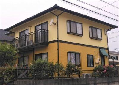 倉敷市茶屋町 F様邸 屋根・外壁塗装工事