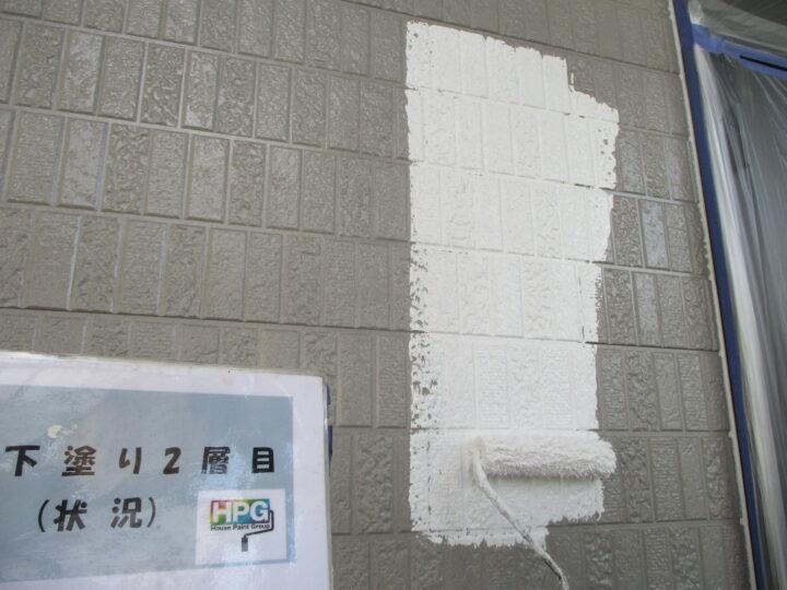 下塗り2層目