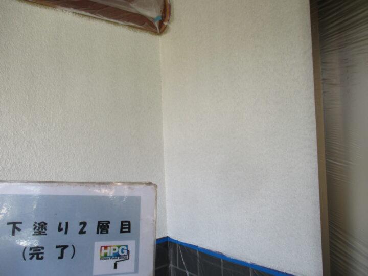 下塗り2層目完了