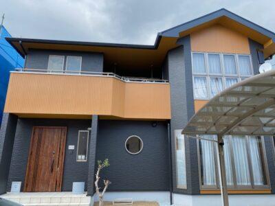 岡山市南区平福 N様邸 屋根・外壁塗装工事