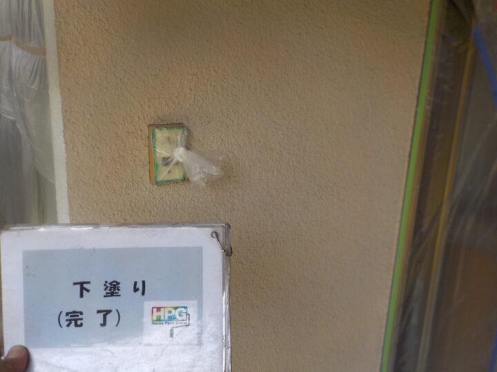 下塗り1層目完了