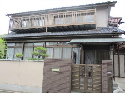 倉敷市西阿知町 A様邸 屋根・外壁塗装工事